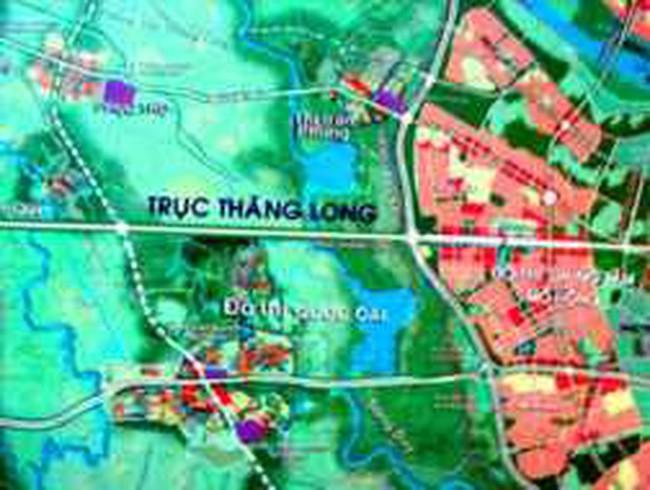 Đề nghị chỉ định nhà đầu tư tuyến đường trục Tây Thăng Long