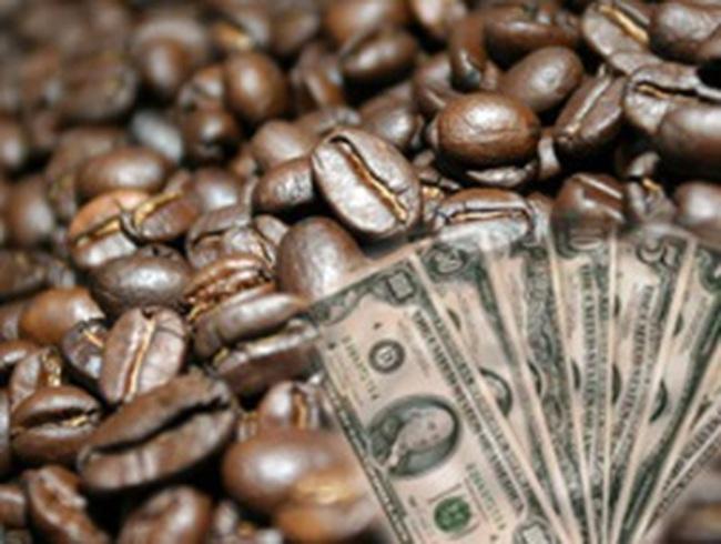 Giá cà phê tăng vọt