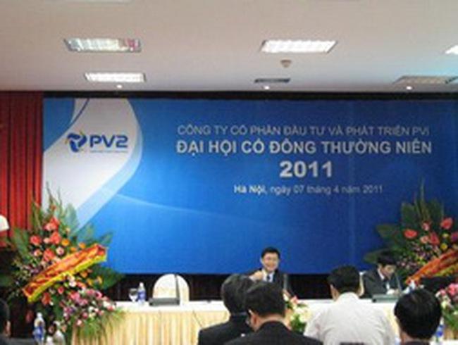 PV2: ĐHCĐ thông qua phương án phát hành tăng vốn điều lệ lên 500 tỷ