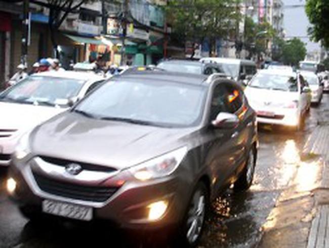 Kiến nghị cho ôtô vào trung tâm TP HCM theo ngày chẵn lẻ