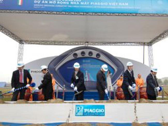 Piaggio tăng gấp đôi công suất tại Việt Nam