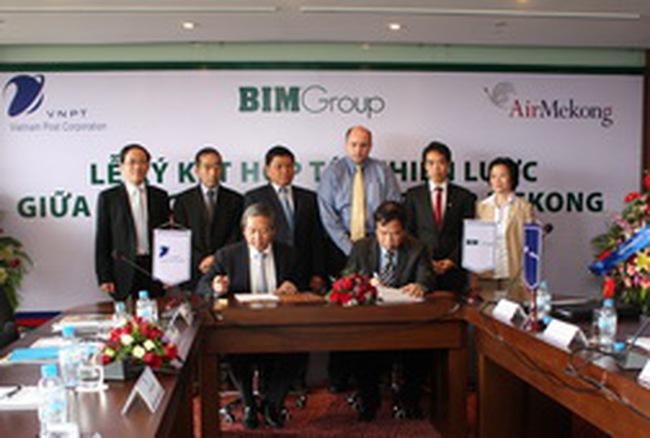 VNPost và Air Mekong ký kết hợp tác chiến lược