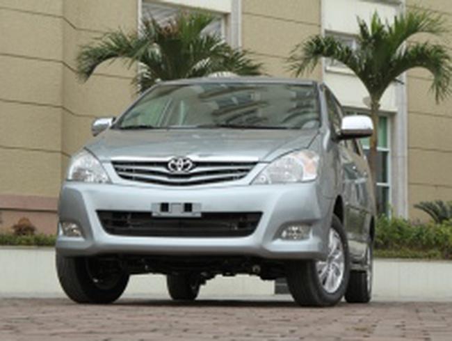 Toyota Việt Nam chuẩn bị triệu hồi xe lỗi