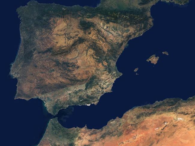 Châu Âu sẽ chìm xuống phía dưới châu Phi