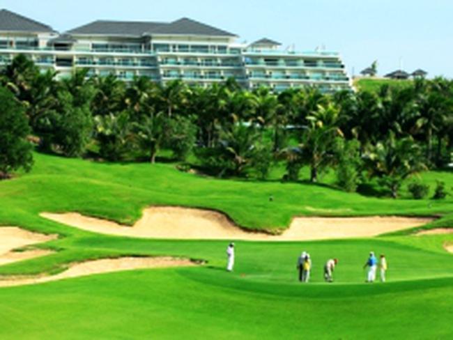 HUD xây sân golf 18 lỗ tại khu kinh tế Dung Quất