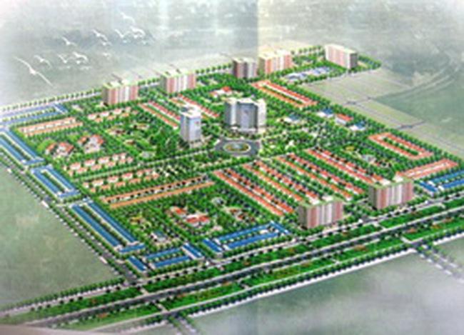 Chấp thuận đầu tư Dự án khu đô thị 55ha tại Mê Linh
