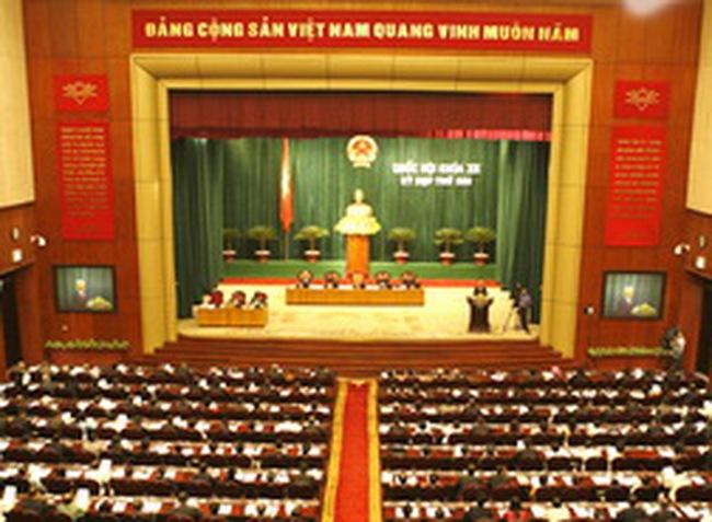 12 bộ trưởng vào danh sách bầu đại biểu Quốc hội