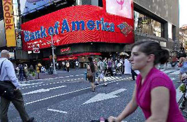 Lợi nhuận quý 1/2011 của Bank of America giảm gần 36%