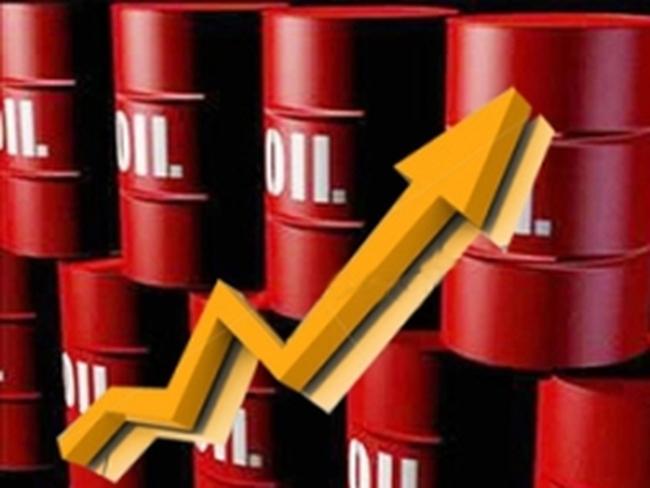 Tăng phiên thứ ba liên tiếp, giá dầu thô lên sát 110 USD/thùng