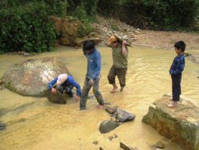 'Vàng tặc' bức tử đầu nguồn sông Chàng