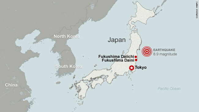 Hơn một nửa nạn nhân trong thảm họa động đất, sóng thần Nhật trên 65 tuổi