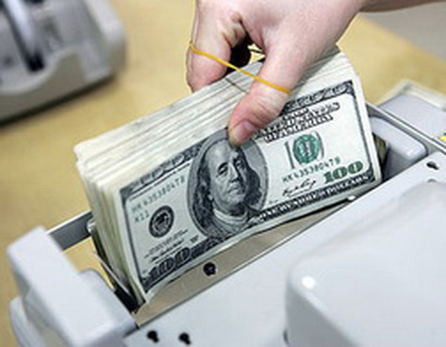 Tỷ giá liên ngân hàng lên 20.733 đồng: Khoảng cách hai tỷ giá tiếp tục được thu hẹp