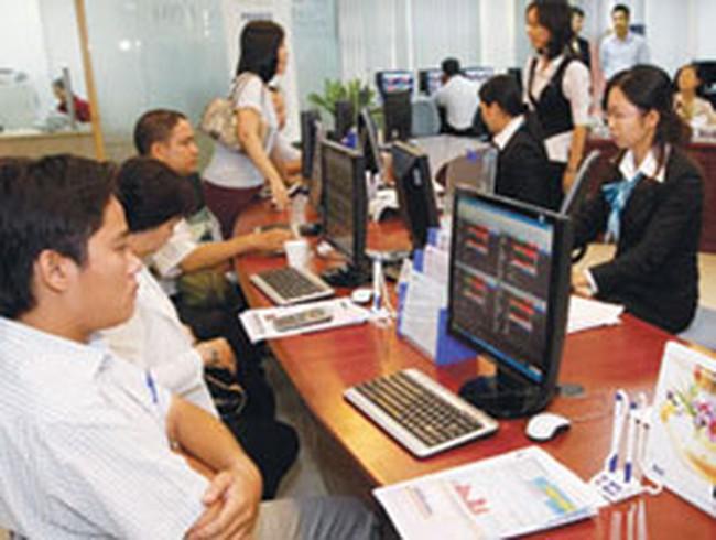 Cổ phiếu bất động sản chuyển động