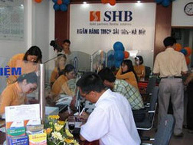 SHB: Năm 2011 đặt kế hoạch LNTT đạt 1.050 tỷ đồng, tăng 60% so với 2010