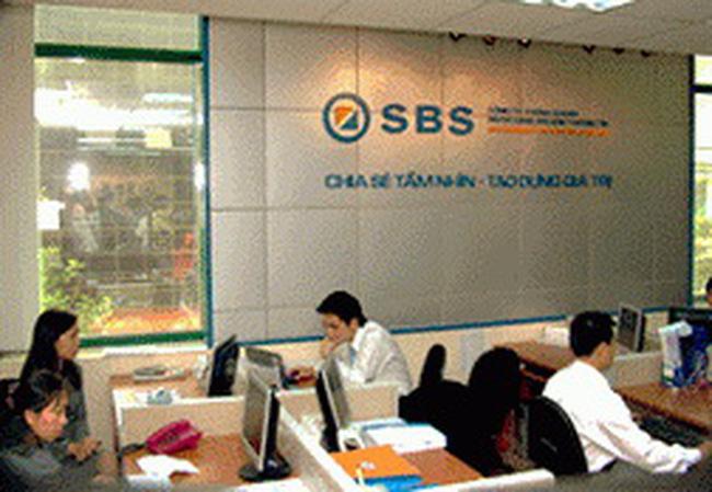 SBS: Doanh thu tự doanh quý I/2011 tăng 43% so với cùng kỳ 2010