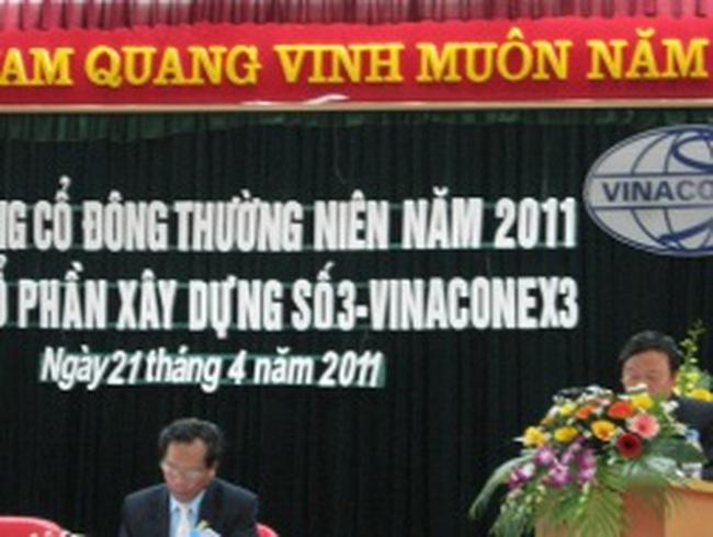 VC3: Đã nhận được giấy phép đầu tư khu đất 8800 m2 của TP Hà Nội