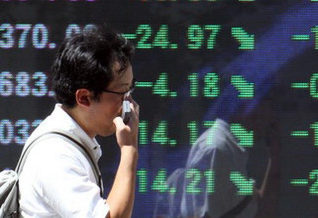 TTCK châu Á lên mức cao nhất trong 1 tháng rưỡi