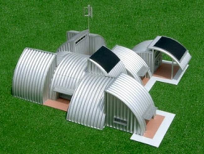 Kiến trúc lạ: Ngôi nhà nhỏ bằng thép