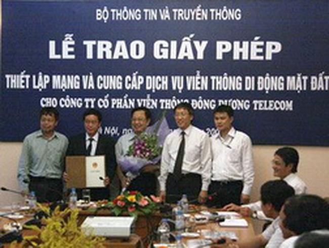 Quý 3/2011, Đông Dương Telecom khai trương mạng di động ảo