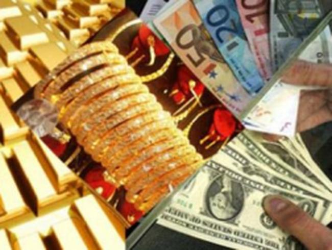 Tỷ giá đôla Mỹ liên ngân hàng giảm tiếp 10 đồng, giá vàng dao động quanh 37,5 triệu đồng/lượng