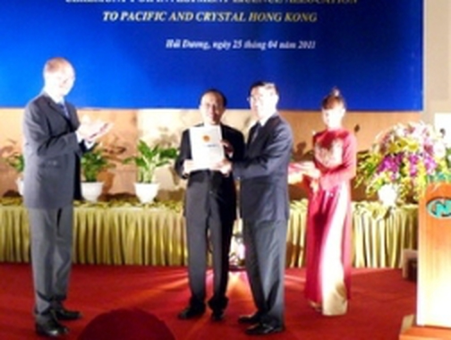Hải Dương cấp phép dự án dệt may 180 triệu USD