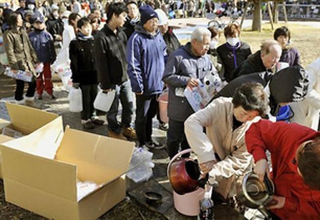 Sản xuất Nhật đi xuống kỷ lục do động đất, sóng thần