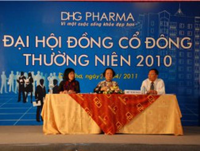 DHG: Thông qua thưởng cổ phiếu tỷ lệ 1:1,4