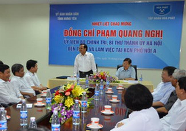 HPG: KCN Phố Nối A đã thu hút đầu tư 17.000 tỷ đồng