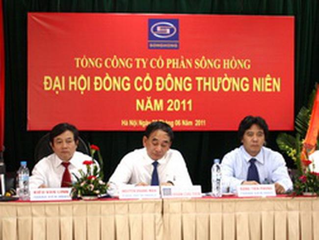 Tổng Công ty Sông Hồng sẽ niêm yết tại HNX trong giai đoạn 2011-2012