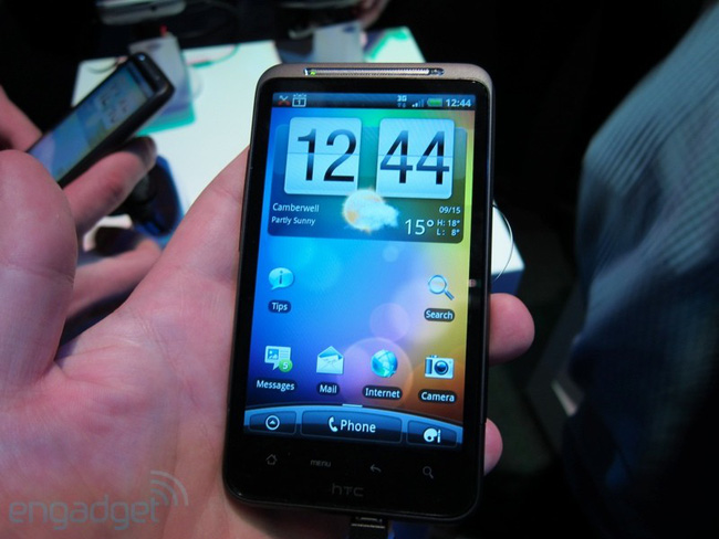 HTC công bố doanh số bán điện thoại di động tăng vọt