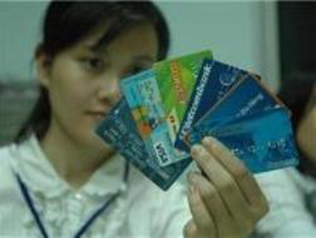 Khoảng 50% thẻ ATM không được sử dụng