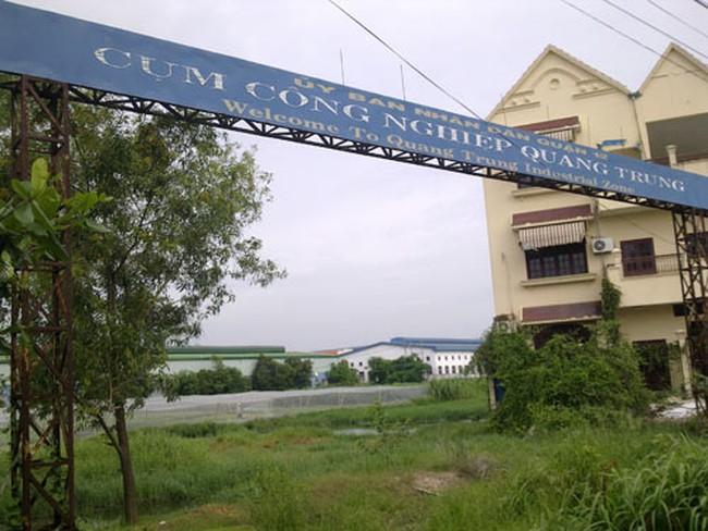 TP HCM: Nhếch nhác cụm công nghiệp Quang Trung