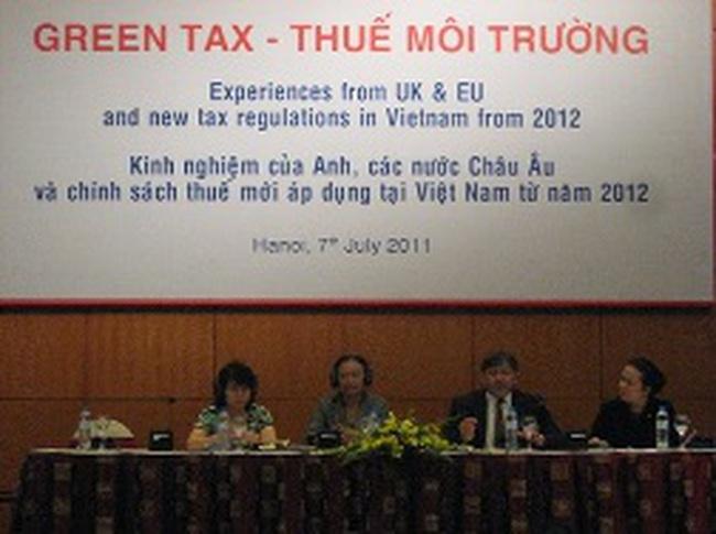 Thuế môi trường: Tăng cường nhận thức bảo vệ môi trường của doanh nghiệp