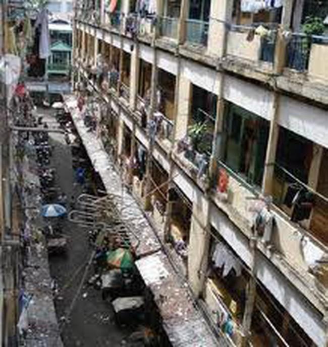 Tháo dỡ chung cư Cô Giang quận 1 - TPHCM