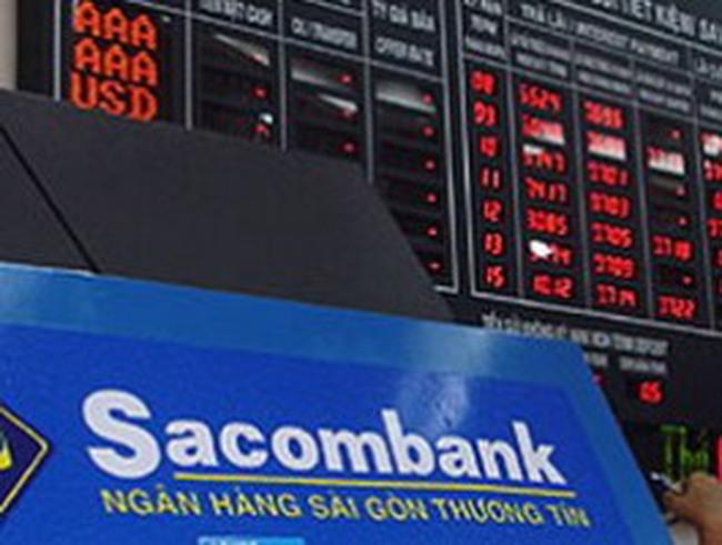 Khối ngoại xả mạnh cổ phiếu Sacombank