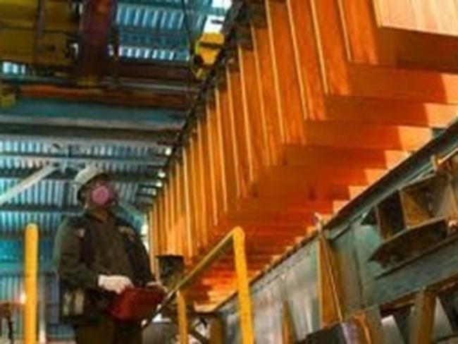Đình công ở công ty sản xuất đồng lớn nhất thế giới