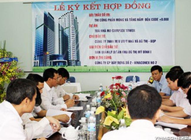 VC2: Ký Hợp đồng thầu xây dựng dự án MD Complex Tower trị giá hơn 75 tỷ đồng