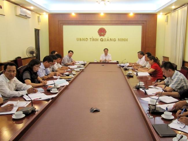 Quảng Ninh: UBND tỉnh họp bàn về Đề án nâng cấp đô thị Thị trấn Quảng Hà