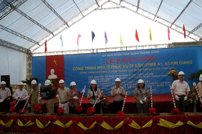 Hơn 220 tỷ đồng xây nhà tái định cư tại Thanh Xuân, Hà Nội