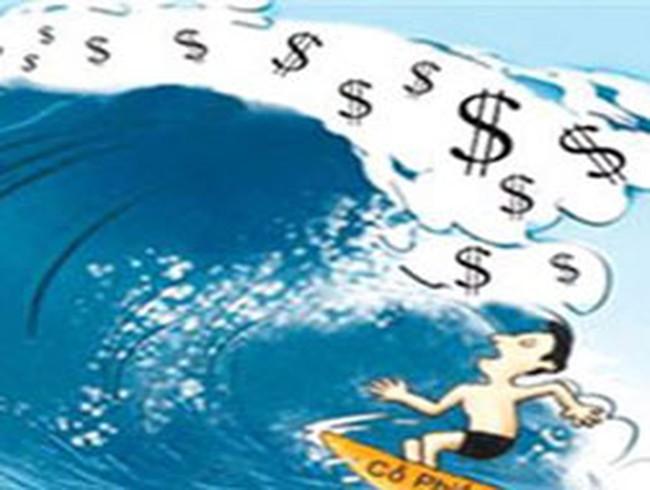 """Thị trường chứng khoán: """"Sóng"""" vẫn xa bờ"""