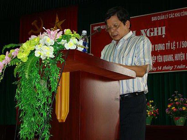 Hòa Bình: Công bố quy hoạch KCN Yên Quang