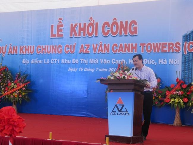 AZ Land khởi công dự án Vân Canh CT1
