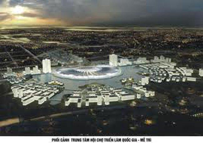 Triển khai dự án xây dựng Trung tâm Hội chợ triển lãm quốc gia