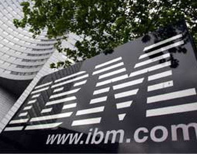 IBM công bố lợi nhuận tăng 8,2%