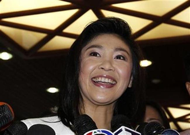 Ủy ban bầu cử Thái Lan chấp nhận kết quả bầu cử của bà Yingluck Shinawatra