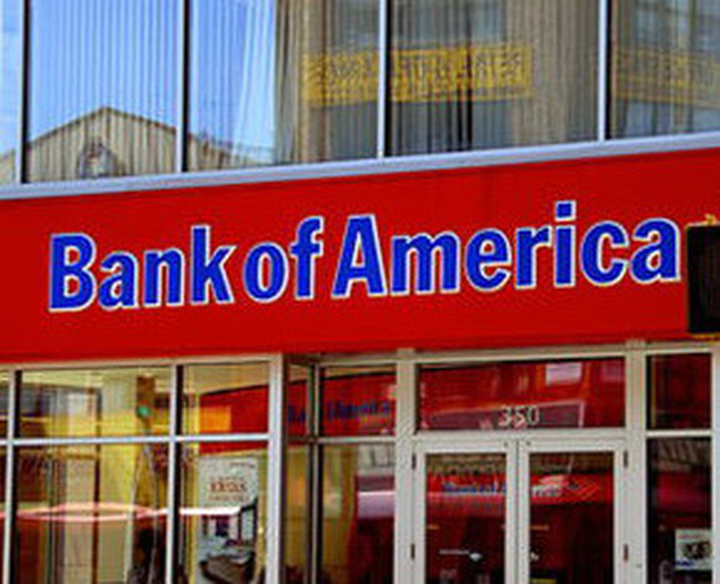 Bank of America lỗ cao nhất trong lịch sử