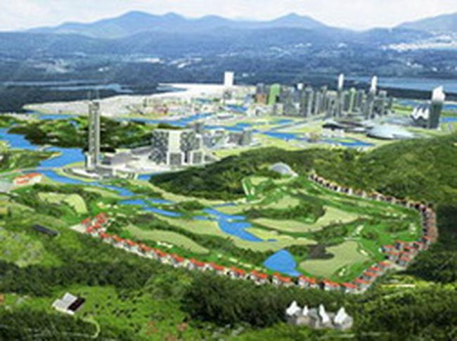 Đến tháng 6/2011, cả nước có 14 dự án khu đô thị mới quy mô trên 1000 ha