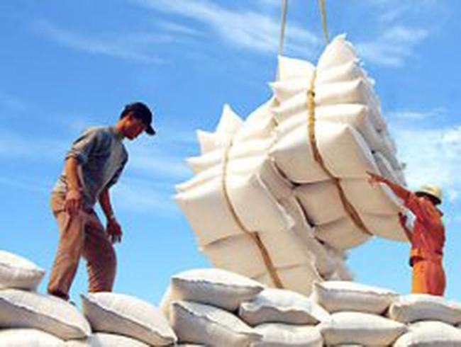 Xuất khẩu gạo đã vượt 2 tỷ USD