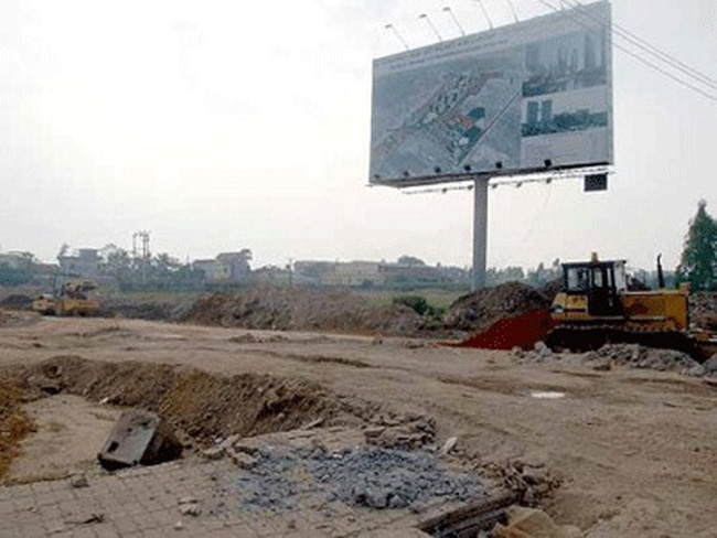 Một số dự án đường 32 giảm giá mạnh