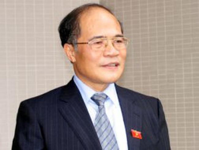 Ông Nguyễn Sinh Hùng được đề cử làm Chủ tịch Quốc hội
